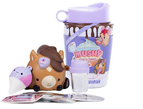 Bandai Smooshy Mushy Series 4 Bakery Core Pet, Juego de mascotas de espuma, modelos/colores aleatorios