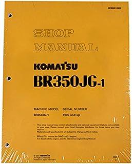 Komatsu BR350JG-1 Mobile Crusher Mobile Crusher Workshop Repair Service Manual - Part Number # SEBD013803
