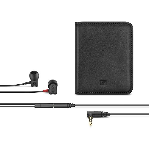 Sennheiser IE 800 S In-Ear-Kopfhörer, Audiophile Referenz, schallisolierende Ohrkanal-Passform mit XWB-Transducern und D2CA-Technologie, abnehmbares Kabel, inklusive symmetrischem Kabel, Schwarz