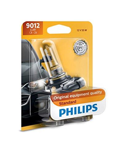 Philips 9012LLB1 Standard Halogen Headlight Bulb, Pack of 1