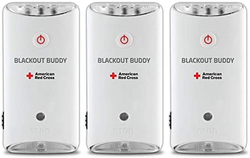 Eton American Red Cross Blackout Buddy Swivel Emergency Flashlight Blackout Alert Night Light product image