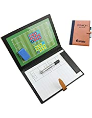 PhantomSky Precisie Training Professionele Voetbal Magnetische Tactiek Board Coaching Board met Marker stukken, Pen en Eraser (Grootte: 48 x 32cm)
