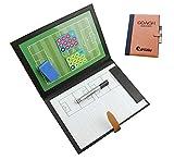 PhantomSky Formation de Précision Pratique Tableau de Magnétique de Conseil Tactics de d'entraînement Football Portable Professionnel pour Entraîner de Football Compétition (Taille: 48 x 32cm)