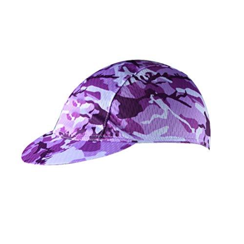 Uriah Damen Radkappe, atmungsaktiv, Sonnenschutz, Damen, Camouflage lila, Einheitsgröße