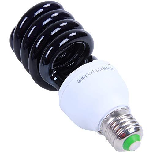 Bestlymood E27 UV-Ultraviolett-Schwarzlicht-CFL-GlüHlampe Mit 40 W, 220 V Form: Spiralleistung Spannung: 40 W, 220 V
