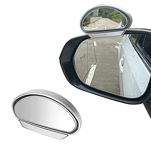 LivTee Universal Adjustable Car Rearview Auxiliary Mirror HD Glass Wide Angle...