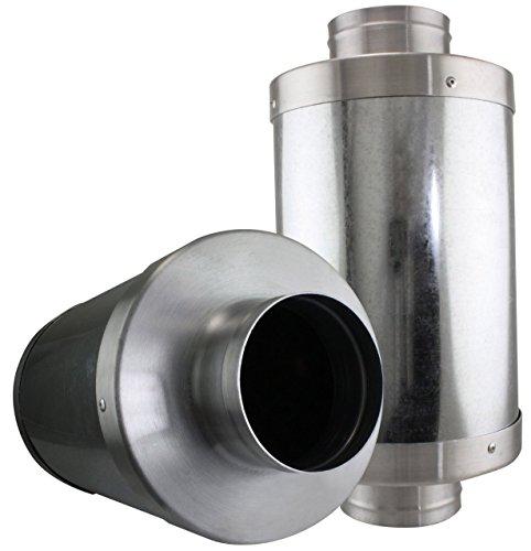 "VenTech VT FS-6 FS6 Muffler Noise Reducer Silencer System for Inline Duct Fan, 6"""