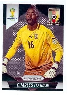 Charles Itandje trading card (Cameroon Caykur Rizespor Soccer) 2014 Prizm World Cup Chrome #36