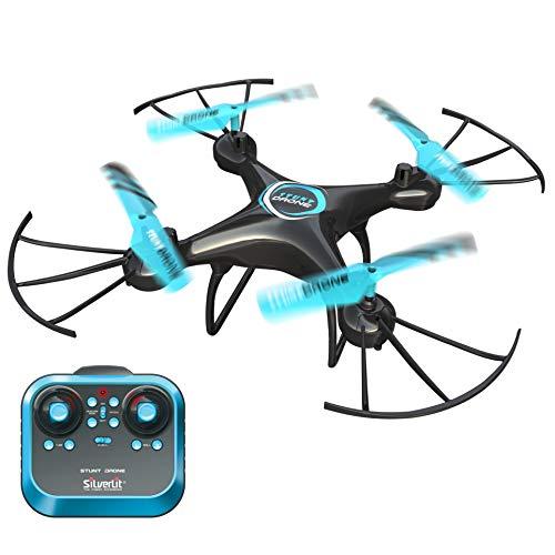 Exost Flybotic by Silverlit Stunt Dron Acrobático 33 cm, Looping 360°, Nuevo diseño, Juguete Volador, Utilización Interior/Exterior, 84841