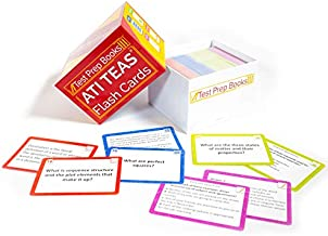 ATI TEAS Flash Cards: TEAS Test Study Guide Flashcards 2021 and 2022 with Practice Test Questions for the Test of Essential Academic Skills [3rd Edition]