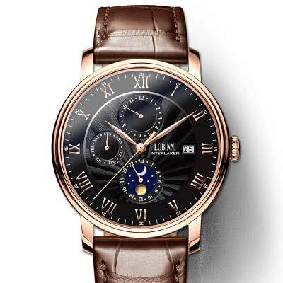 HIASKYX Herrenuhr Uhr Seagull Automatic Mechanical Clock Sapphire L1023-3 Artikel 3
