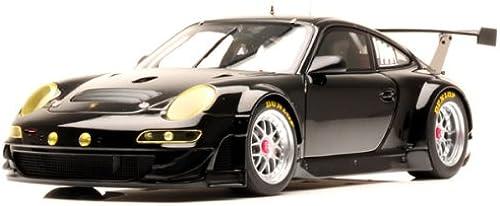 AutoArt 80974 Porsche 911    GT3 RSR 2009 Schwarz- Die-Cast Standmodell Ma ab 1 18