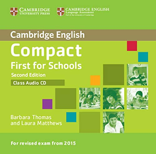 Compact First for Schools - Second edition. Class audio CD