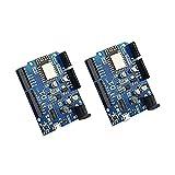 Kaxofang 2 Piezas Wemos D1 para WiFi Shield para ESP8266 ESP-12E, Placa de Desarrollo para Compatible