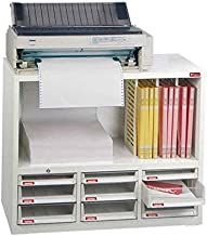 SHUTER オフィス用収納棚 プリンター台 白 A4XM3-6H3P3V