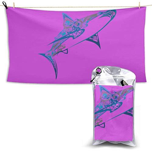 shenguang Beach Towel, Paws Ultra Soft Sand Microfiber Portable Water Absorbent Multi-Purpose Bath Throw Towel, Size 28.7' X 51'