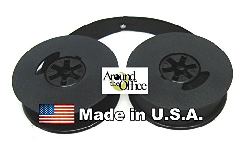 "AroundTheOffice Universal Twin 2"" Spool Black Fabric Typewriter..."