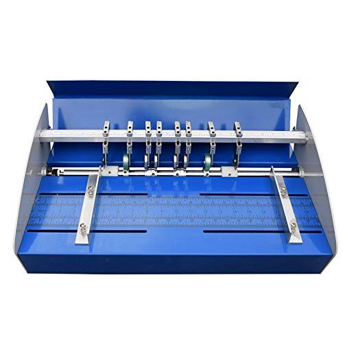 DBG 220V / 110V elektrische Papier Rillmaschine, 520mm Elektrische Falzmaschine Papier Creaser Stand Papierschneider Perforiermaschine