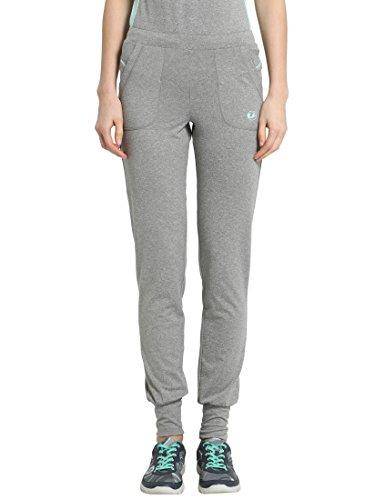 Ultrasport Fitness/Sport Long Pantalon Largos, Mujer, Gris/Agua, M