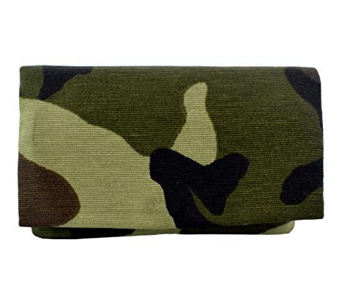 Plan B, Pitillera Tabaco de Liar, Two Days Militar, 11,5 x 7,5 cm, 15 g, con Bolsa Interior de Goma EVA, Verde