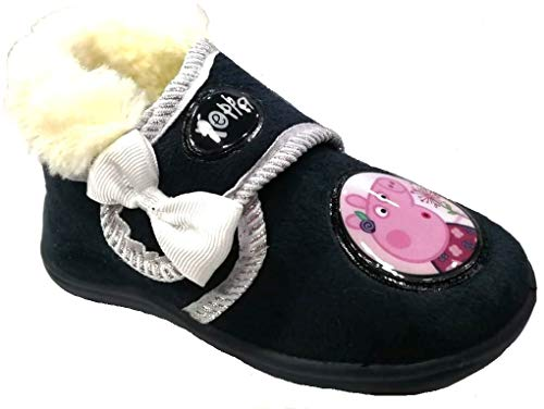 ARNETTA Peppa Pig Pantofole, Scarpette Bimba Art. S18947 Blu (30)