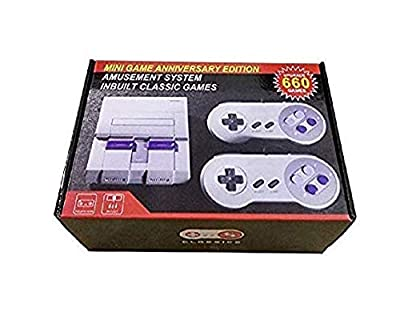 Mini Classic Game Consoles Mini Retro Game Consoles Built-in 660 Games Video Games Handheld Game Player ?AV Out Cable 8-Bit? Bring You Happy Childhood Memories from HAPPY BOY