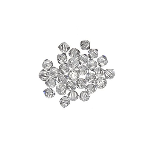 Cristallo Swarovski bicono (001) Crystal 2.5 mm Beads PK30