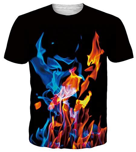 Funnycokid Teenagers T Shirts Full Digital Printed Pineapple Summer Teen Girls Vacation Beach Camiseta
