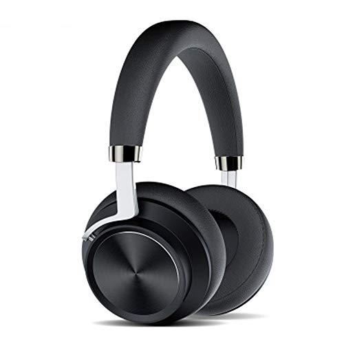 LXFTK Oreillette Bluetooth sans Fil, oreillette B2, oreillette de Jeu pour Hommes et Femmes.Casque antibruit stéréo-Black