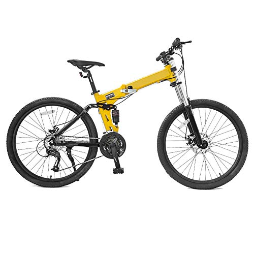 LIUCHUNYANSH Mountain Bike Bicicleta para Joven Las Bicicletas MTB MTB Adultos Plegable Camino de la Bicicleta de los Hombres de 27 Adolescentes de 26 Pulgadas, Llantas de Velocidad for Las Mujeres