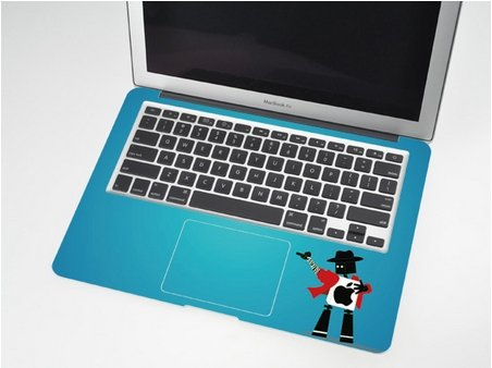 『MacBook Air 対応 アートステッカー - Entertainer - (11-inch)[並行輸入品]』のトップ画像