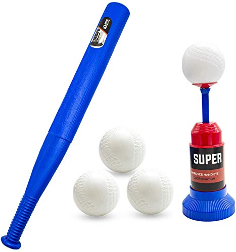 Ball Set for Toddlers Kids-Baseball Game Includes 3 Balls ,Training Semi...