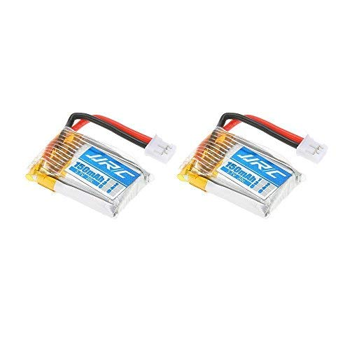 YUNIQUE Italia® 2piezas Batería Li-po para RC Drone JJRC H36Repuesto JJRC H36–0043.7V 150mAh 30C
