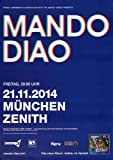 Mando Diao - Blue, München 2014 » Konzertplakat/Premium