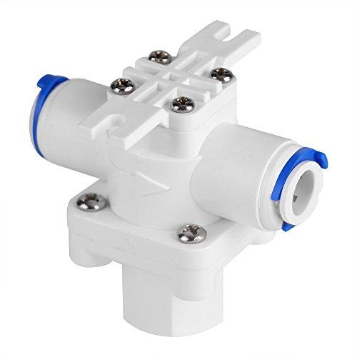Válvula de alivio de presión de agua, regulador de presión de 3/8', válvula reductora, protección del filtro, agua RO para purificador de agua de ósmosis inversa