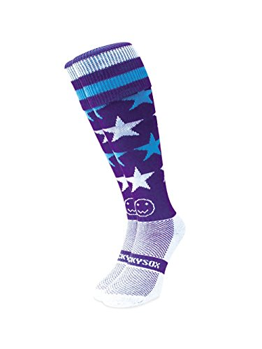 WackySox Milky Way Sport-Socken Junior Shoe Size 12-2