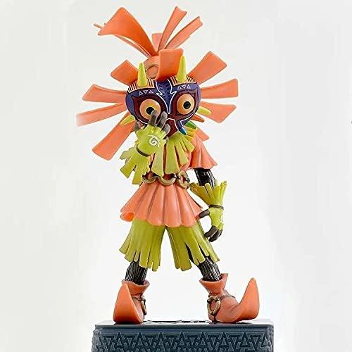 CUUGF 16CM Abnehmbare Limited Edition Anime Figur Die Legende von Zelda: Majoras Maske (3D) Modell Actionfigur Sammlerstück Puppenspielzeug Geschenk