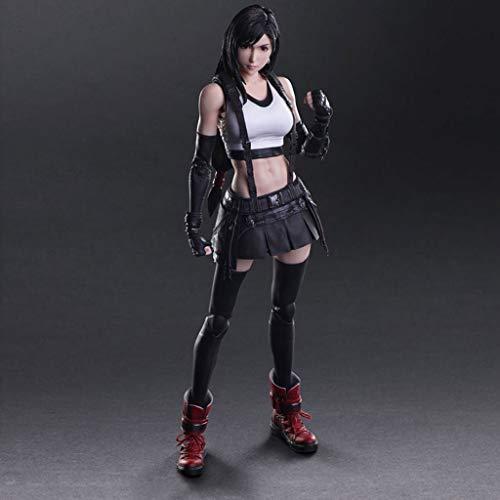 MMZ Final Fantasy VII Tifa Lockhart Atcion Figura Figura Colección de PA Kai - equipados con Armas y reemplazables Manos 9,8