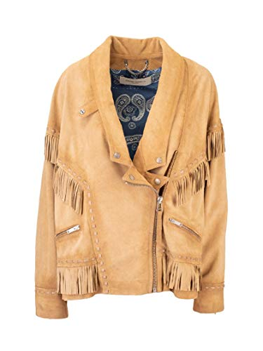 Luxury Fashion | Golden Goose Dames G36WP073A1 Bruin Leer Outerwear Jassen | Lente-zomer 20