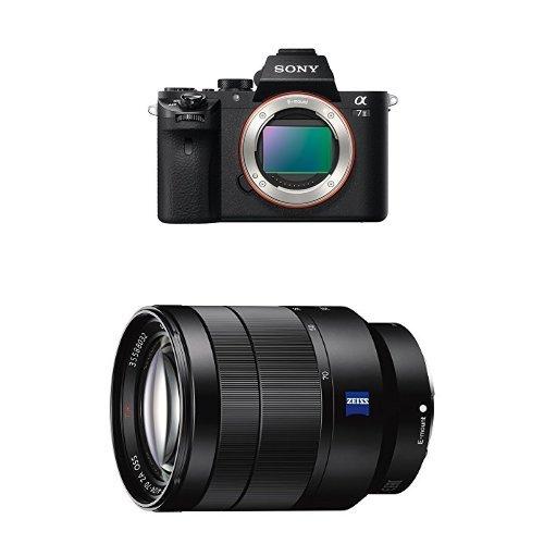 Sony Alpha 7 II nur Gehäuse (24,3 Megapixel, 7,62 cm (3 Zoll) LCD Display, Full HD Videofunktion (XAVC S, AVCHD), Vollformat Exmor CMOS Sensor) schwarz + Sony SEL2470Z, Zoom-Objektiv