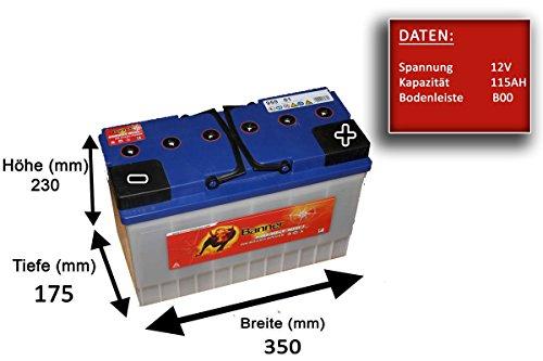 Preisvergleich Produktbild Banner 95901 Box Energie 643 Bull Ölpest & nach hinten losgehen geschützt Freizeit Akku