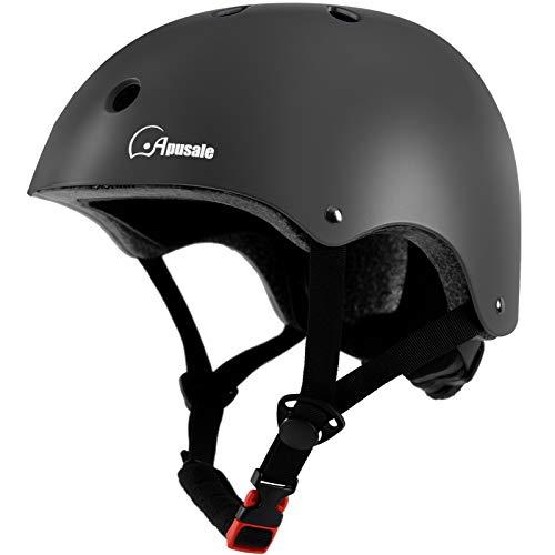 Apusale Kids Bike Helmet,Toddler Youth Bike Helmet,for Scooter Cycling Roller Skating,Adjustable Size for Children Girl Boy