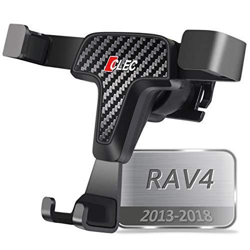 AYADA Porta Cellulare per Toyota RAV4, RAV4 Supporto Smartphone gravità Chiusura Automatica Alluminio Stabile Mani Libere Facile Mount Design Separabile RAV4 Accessori 2013 2014 2016 2018 (Gravity)