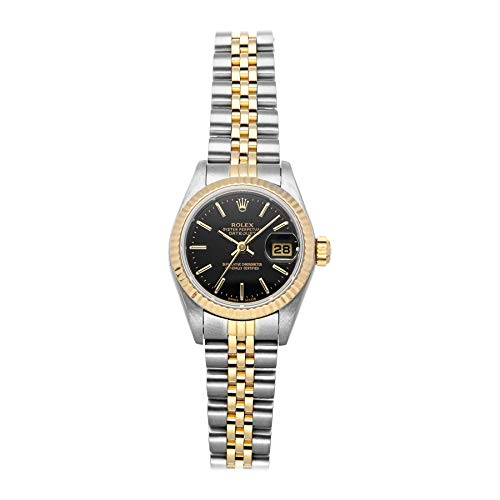 Rolex Datejust Mechanical (Automatic) Black Dial Womens Watch 69173 (Certified Pre-Owned)