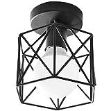 Zhenmu home Nórdico Pasillo Creativa Hierro Forjado pórtico de la lámpara de Techo Balcón Foyer Tienda de Ropa Habitación Sala Corredor Iluminación