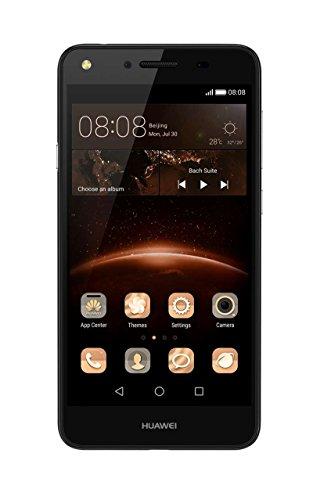 Huawei CUN-L21 Obsidian 12,7 cm (5 Zoll) Y5 II Smartphone (LTE, Dual SIM, 8GB, WiFi, Bluetooth, Android 5.1 Lollipop) schwarz