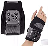 YQJ Hand Massager Electric-Hand and Wrist Heated Wrap, with Heating Vibration Wrist Brace Hand Compression Carpal Tunnel Wrist Support, for Finger Arthritis, Sprains,Carpal Tunnel Pain Relief