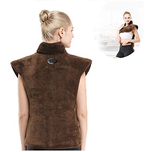 Best Prices! Heating Wrap Shawl Vest, Electric Heating Ai Fu Shoulder Neck - Back Shoulder Thicken K...