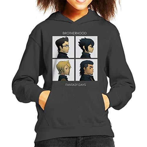 Cloud City 7 Final Fantasy Brotherhood Days Kid's Hooded Sweatshirt