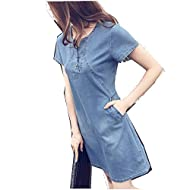 HTDBKDBK Women Spring Striped Bandage V Neck Causal Dress Above Knee Dress Ladies Beach Party Dresses